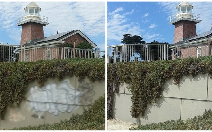 Graffiti Abatement Team to the Rescue