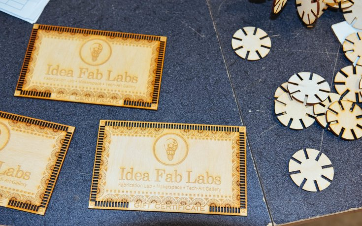 Idea Fab Labs - Merging Art & Tech