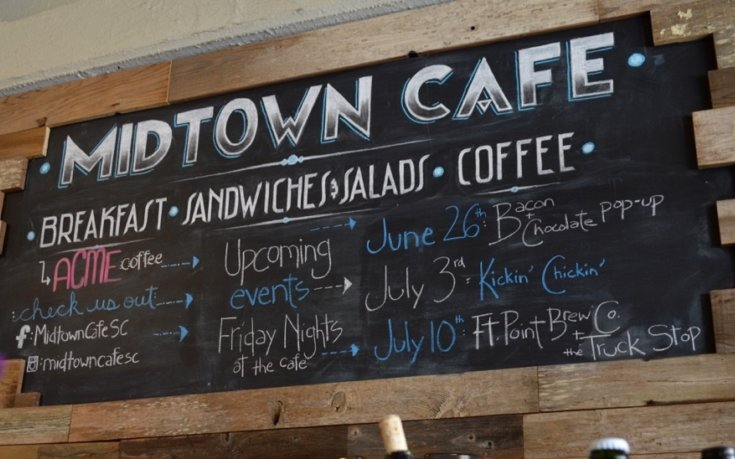 Evening Pop Ups at Midtown Cafe