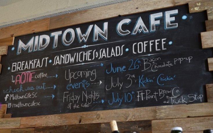 Evening Pop Ups at Midtown Cafe