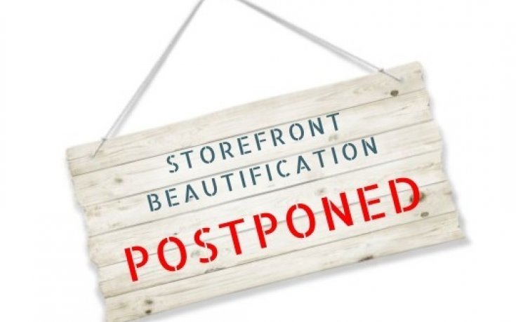 Storefront Beautification grant competition postponed to Fall 2020